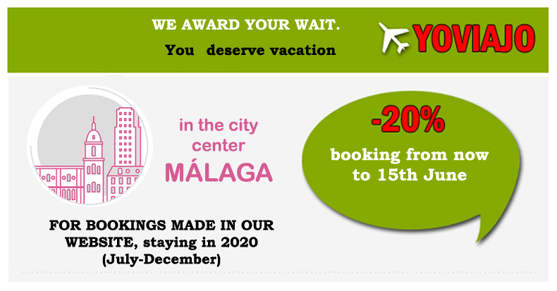 Discount for holidays in Málaga
